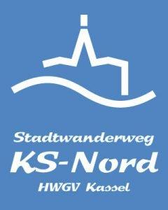 Wegzeichen Stadtwanderweg KS-Nord