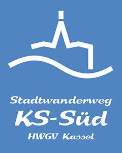 Wegzeichen Stadtwanderweg KS-Süd