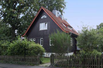 In diesem typischen Landhaus der 1920er Jahre wohnte Georg August Zinn einige Zeit.