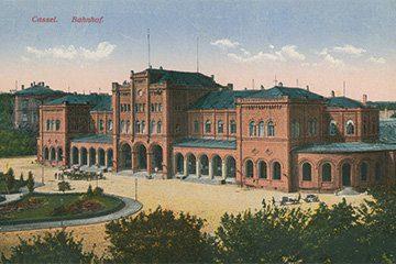 Der Bahnhof zu Cassel, 1915