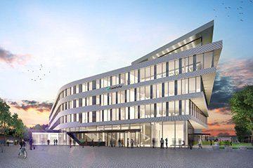 Neubau des Fraunhofer-Instituts (Rendering)