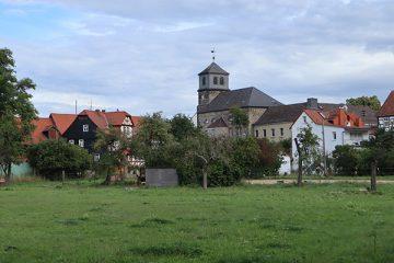 Der alte Ortskern Oberzwehrens.