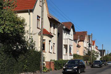 """Schmucke Villen im """"Neuen Viertel""""."""