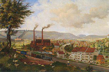 Rothenditmold um 1880 (Georg-Michael Mades)