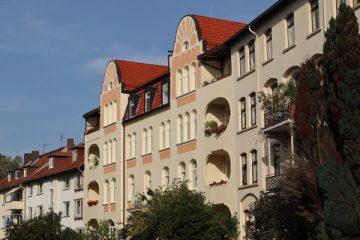 In der Heckerstraße begann der Ausbau des gründerzeitlichen Wohnviertels.