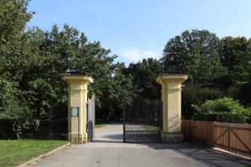 Eingang zur Karlsaue.