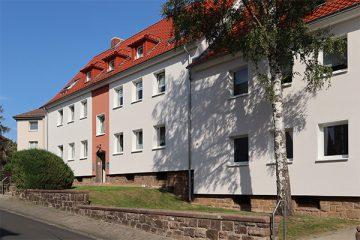Die Häuser in der Bantzerstraße aus den 1930er Jahren.